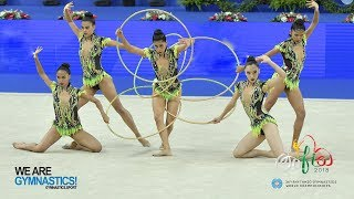 Rhythmic Gymnastics World Championships - Groups General Competition - Part 2