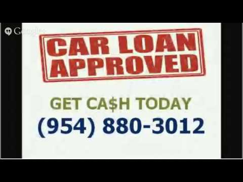 Bad Credit Car Title Loans Pembroke Pines 33029 - CALL 954-880-3012