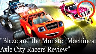 Blaze and the Monster Machines: Axle City Racers Review [PS4, Switch, Xbox One, & PC] (Video Game Video Review)