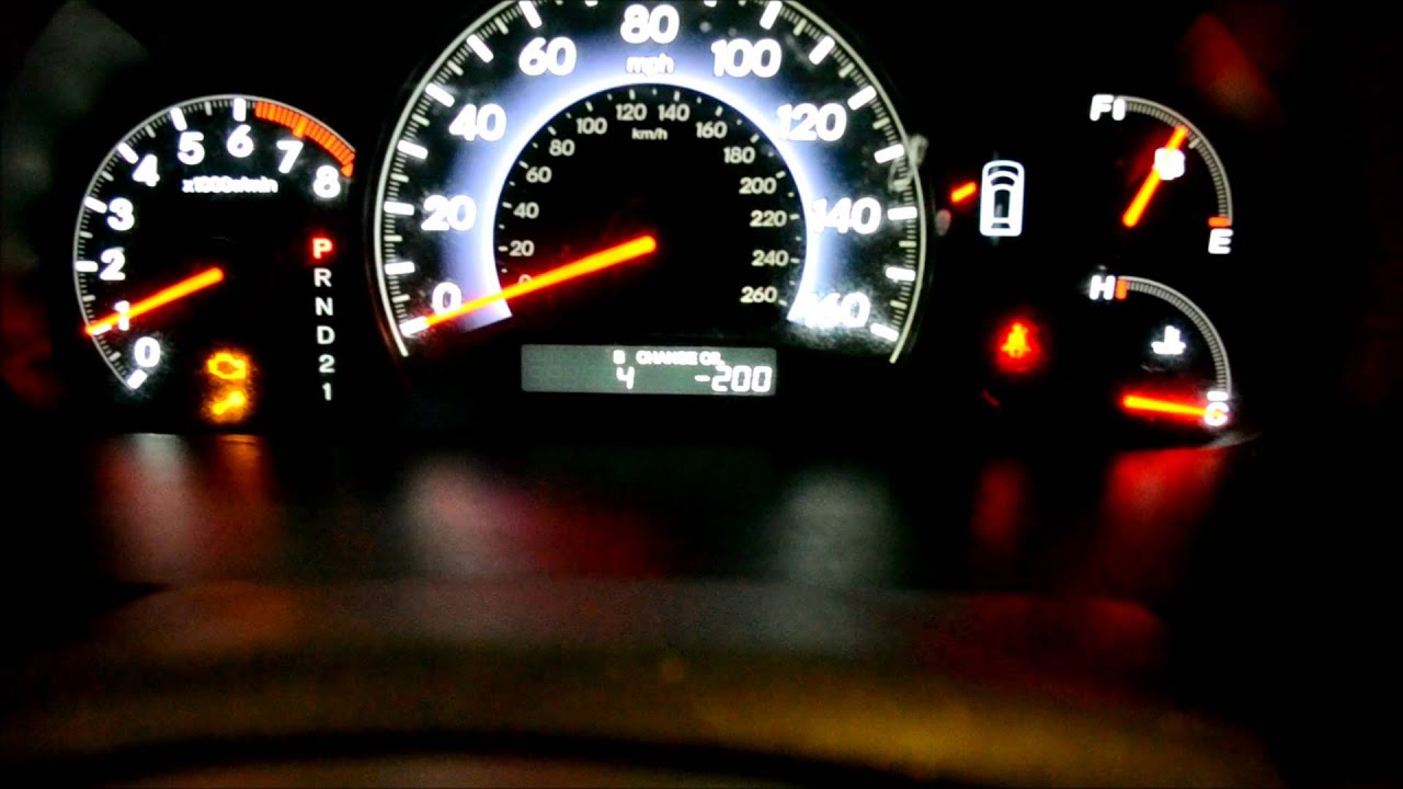 Exclamation Point In Car >> 2007 Honda Odyssey Triangle Warning Light   Adiklight.co