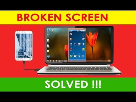 How To Use Broken Phone using Vysor on PC/Laptop? Broken Screen Solved!