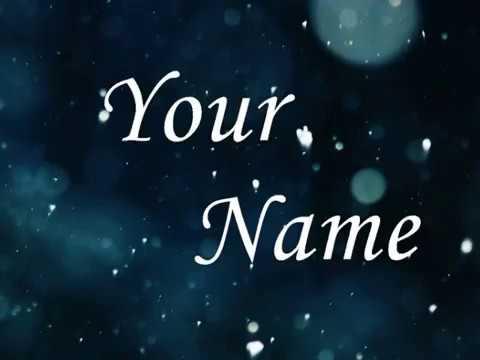 Your Name - karaoke