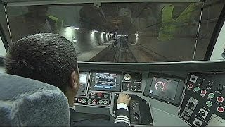 Video Europe and Asia joined by Marmaray tunnel under the Bosphorus Strait download MP3, 3GP, MP4, WEBM, AVI, FLV Juni 2018