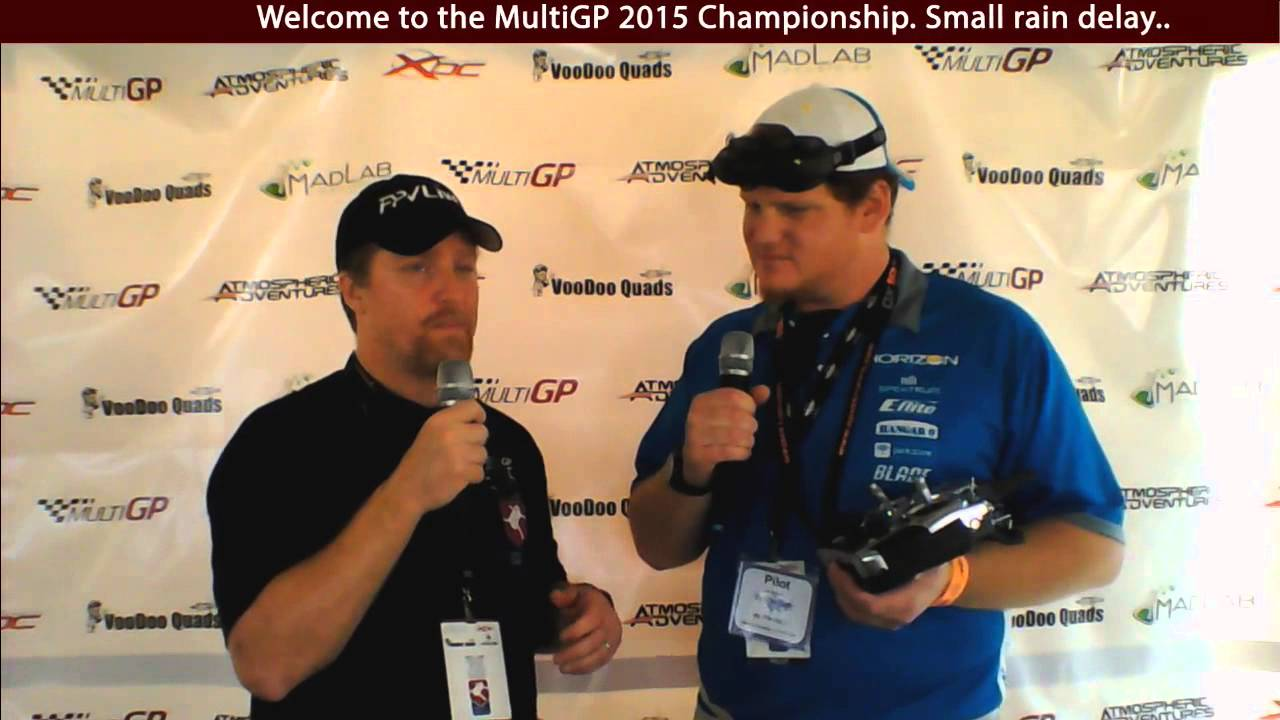 FPVLive tv Interview With Aaron Shell at MultiGP 2015 Championship