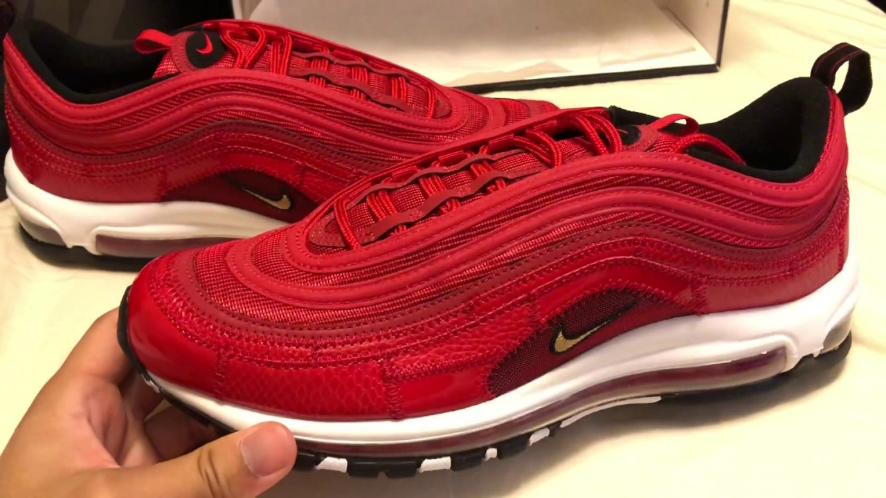 713f558d7a Cristiano Ronaldo Air Max 97 Portugal Patchwork's 2018 Red - YouTube