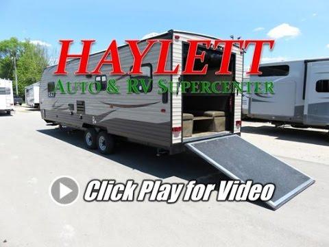 HaylettRV.com - 2017 Grey Wolf 26RR Toy Hauler Travel Trailer by Forest River RV