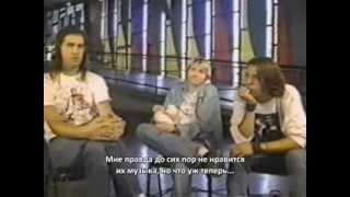Nirvana 1992.09.11 (русские субтитры)