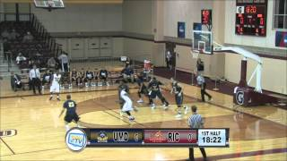 RIC Anchormen Basketball vs UMass Dartmouth 1-20-16