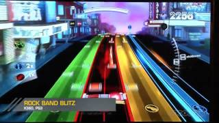 Rock Band Blitz Gameplay Demo (Xbox 360, PS3)