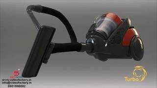 3D Animated Video of a Vacuum Pump