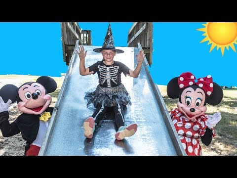 PAW PATROL Assistant Play Hide N Seek with Micke Mouse + Minnie Mouse and Donald Duck