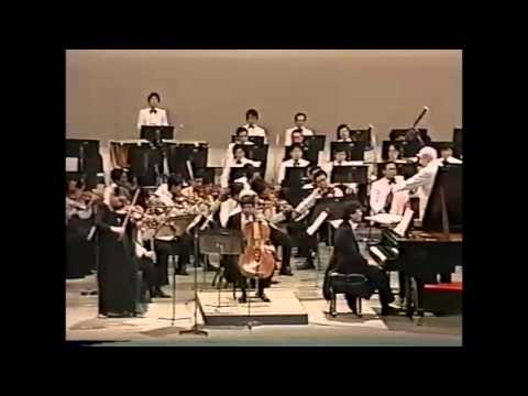 Minoru Nojima, Suzumi, Yasuda, Takashi Asahina - Beethoven Triple Concerto - video 1988