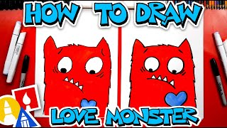 How To Draw Love Monster