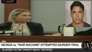 War Machine Trial Day 3 Part 3 (Christy Mack Testifies) 03/08/17