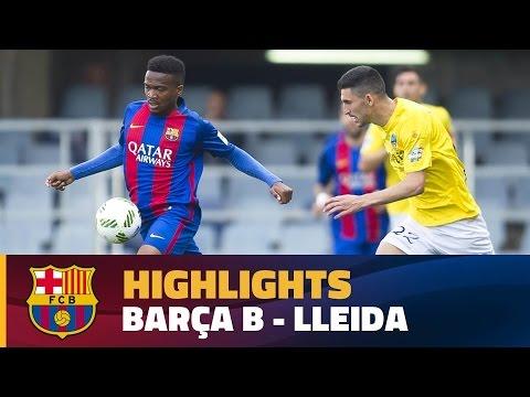 [HIGHLIGHTS] FUTBOL (2AB):  FC Barcelona B - Lleida (1-0)