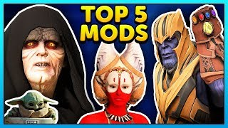 Star Wars Battlefront 2 Top 5 Mods of the Week - Mod Showcase #101