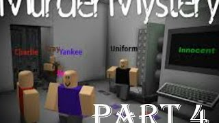 Roblox HD Gameplay Murder Mystery-Part 4