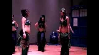 Doctor Who Proposal at Belly Dance Show
