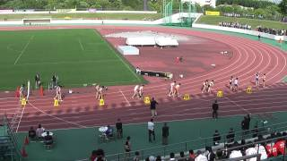 2013静岡県東部高校総体女子800m決勝