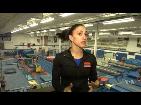 Armenian American First Female Gymnast to Represent Armenia in Olympic Games