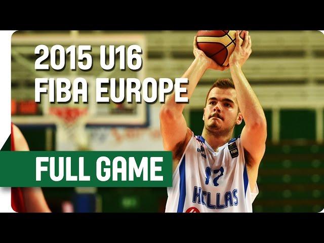 Live 14.30 | Ελλάδα-Αγγλία για την παραμονή στην πρώτη κατηγορία του ευρωπαϊκού παίδων, ζωντανά στις 14:30 από την Λιθουανία