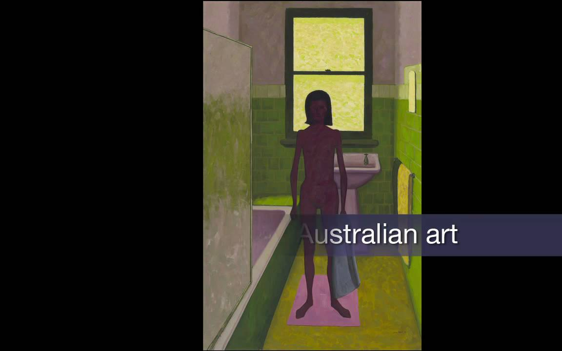 Bathroom John 72 17545 - john brack 'the bathroom' 1957 - youtube