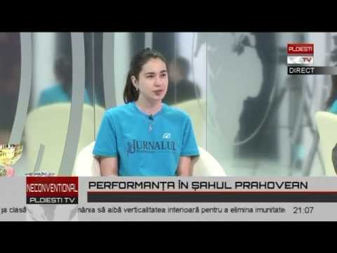 chess  Emilia Coman  16 IUN P1 Ploiesti TV  partea I  a