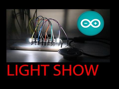 Show Control Visual Basic Arduino Doovi