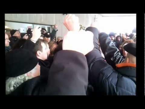 L'Internazionale ai funerali di Prospero Gallinari