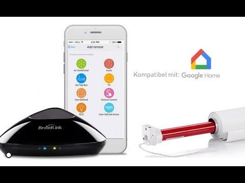 smart home rollo steuerung mit siro google home und broadlink youtube. Black Bedroom Furniture Sets. Home Design Ideas
