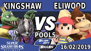SCS#2 - Kingshaw (Wolf, King K Rool) vs Eliwood (Donkey Kong, Ness)