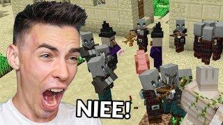 ZAATAKOWALI moją WIOSKĘ w Minecraft!