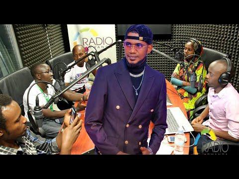 ROCKY KIRABIRANYA AKOMEJE GUKORA AMATEKA: Iyumvire ikiganiro kiryoshye yagiranye na Radio Rwanda