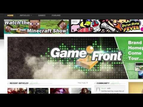 Welcome To The Redesigned Game Front Homepage