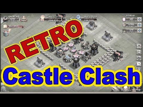 Битва Замков РЕТРО - Что за РЕТРО? Играем в старую версию Castle Clash