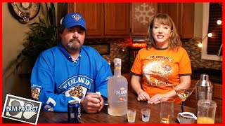 Finlandia tangerine vodka(Tasting Finnish vodka and making few cocktails., 2015-02-27T02:33:40.000Z)