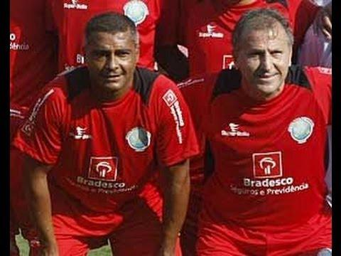 Flamengo 5 x 5 Amigos do Zico - Jogo Beneficente 27/12/2009 - Jogo Completo