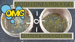ModelOnes Poly Gel Glitter Mix!!! Mix With Me!!