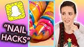 Testing Dumb Snapchat Nail Hacks and Correcting Them