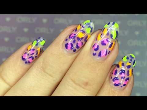 ORLY Neon Leopard Nail Art Tutorial thumbnail