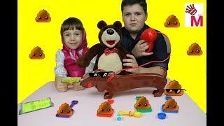 Обзор и распаковка игрушки Doggie Doo Game for children challenge  игрушка  Собака Доги До для детей