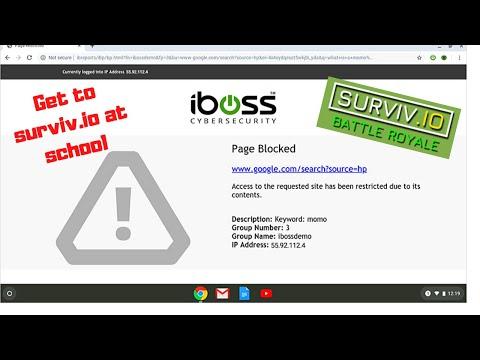 How to get to surviv.io at school [surviv.io unblocked]