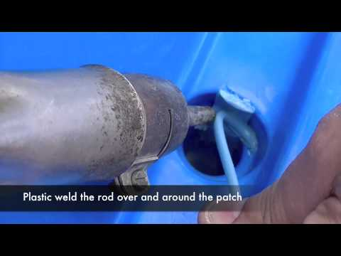 Repairing Scupper Holes How To Plastic Weld A