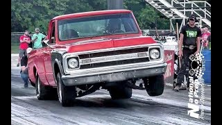 A pair of turbo C10 trucks doing battle in the sct at Thunder Valley thumbnail