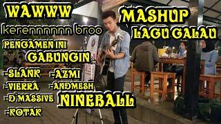 KEREEENNNN MASHUP LAGU !!! PENGAMEN INI GABUNGIN BEBERAPA LAGU GALAU INDONESIA - PENDOPO LAWASSS