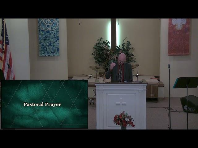 Calvary Baptist Church Sunday,  6 June, 2021