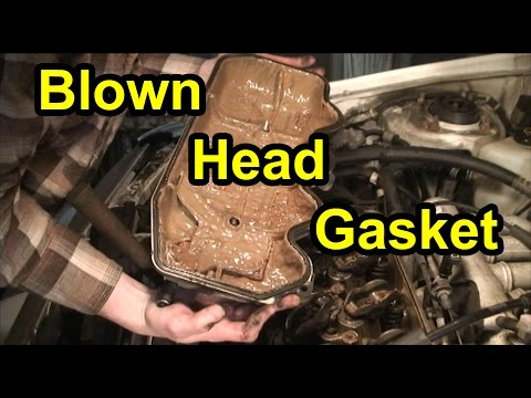 Blown Head Gasket & Cylinder Head Repair 1.9L Mercury Tracer Ford Escort