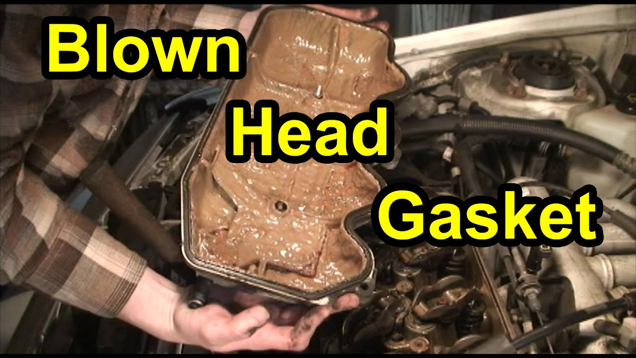 blown head gasket cylinder head repair 1 9l mercury tracer ford escort [ 1280 x 720 Pixel ]