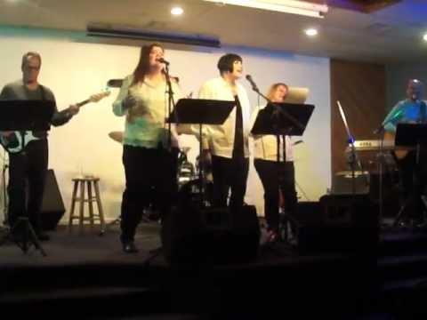 Woven in White singing Selah 2U at New Glory Rock, 2/1/13.