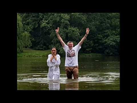 Water Baptism - Evangelical Church Assembly of God in Warsaw Poland.